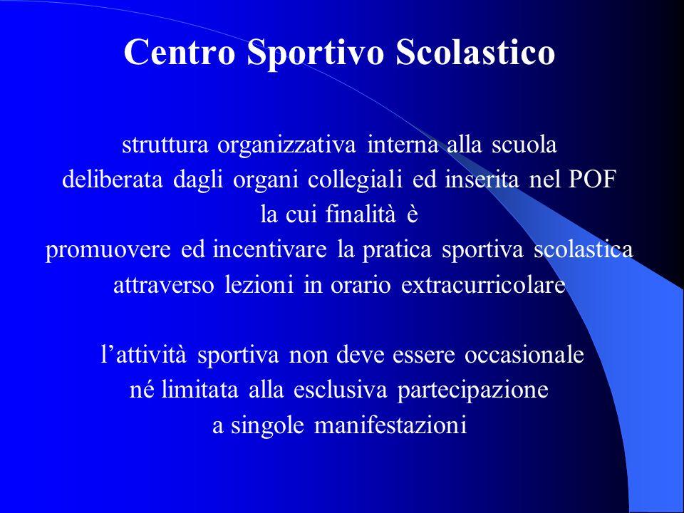 Centro Sportivo Scolastico