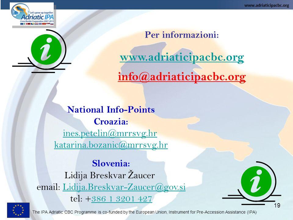 www.adriaticipacbc.org info@adriaticipacbc.org
