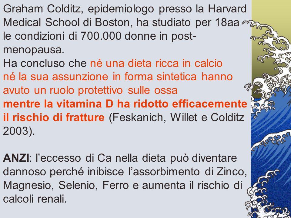 Graham Colditz, epidemiologo presso la Harvard