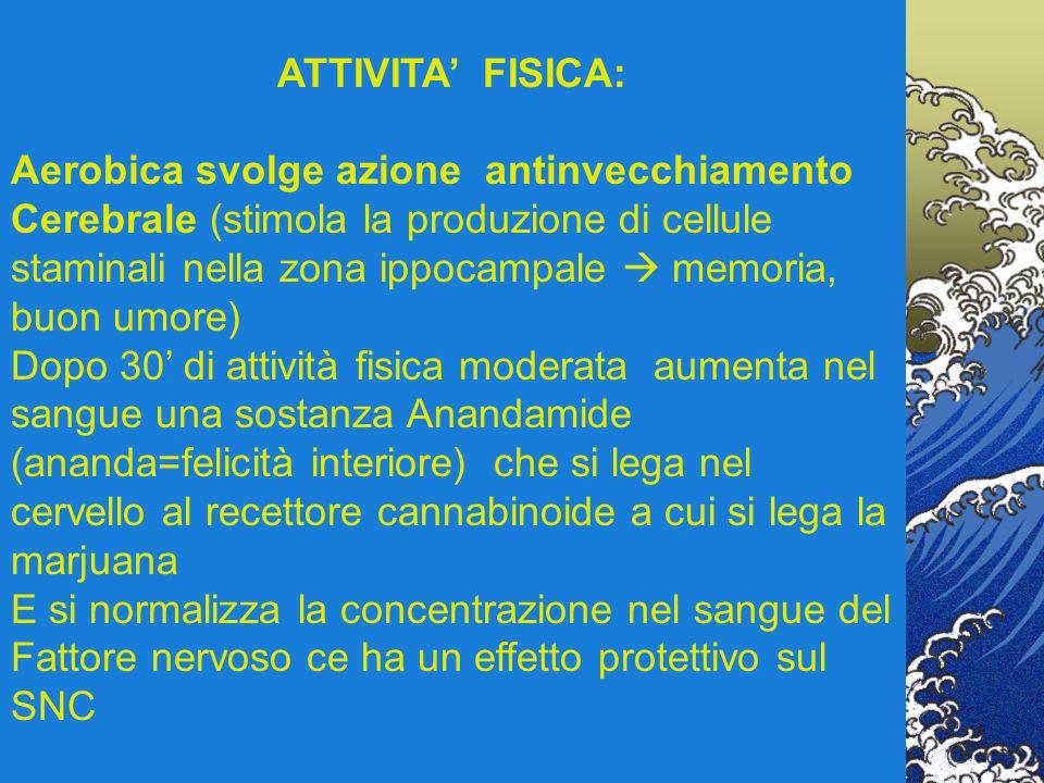ATTIVITA' FISICA: Aerobica svolge azione antinvecchiamento.