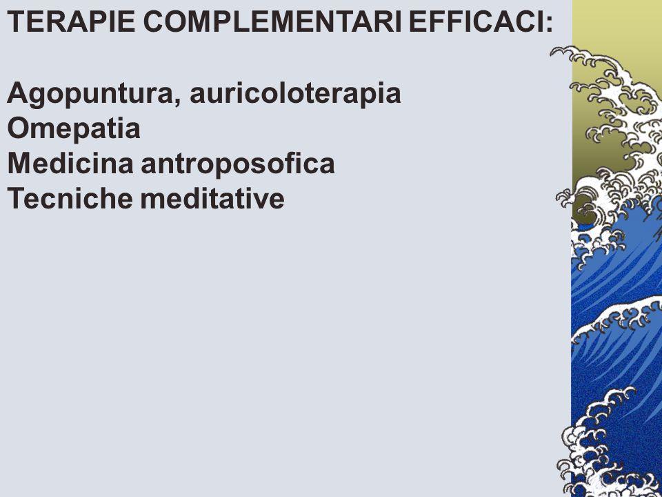 TERAPIE COMPLEMENTARI EFFICACI: Agopuntura, auricoloterapia Omepatia