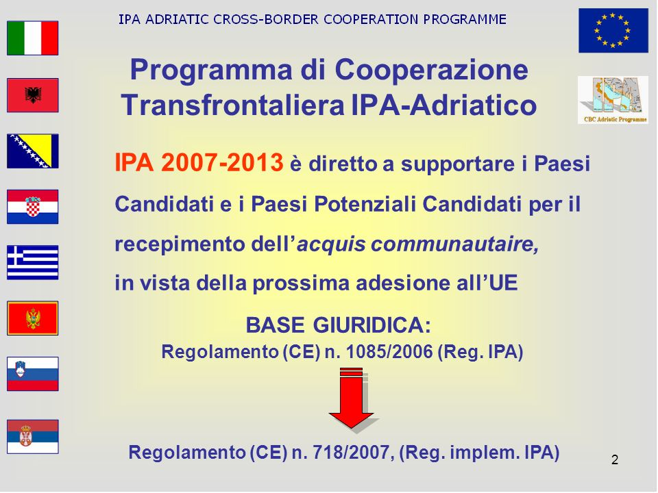 Programma di Cooperazione Transfrontaliera IPA-Adriatico