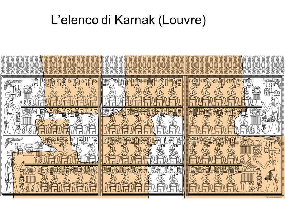 L'elenco di Karnak (Louvre)