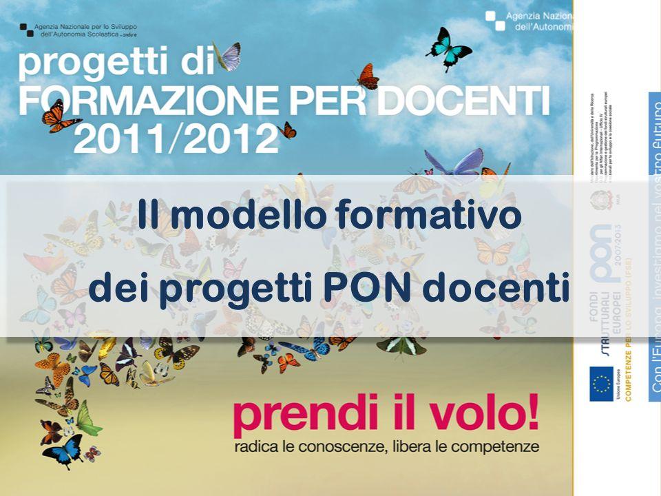 Il modello formativo dei progetti PON docenti