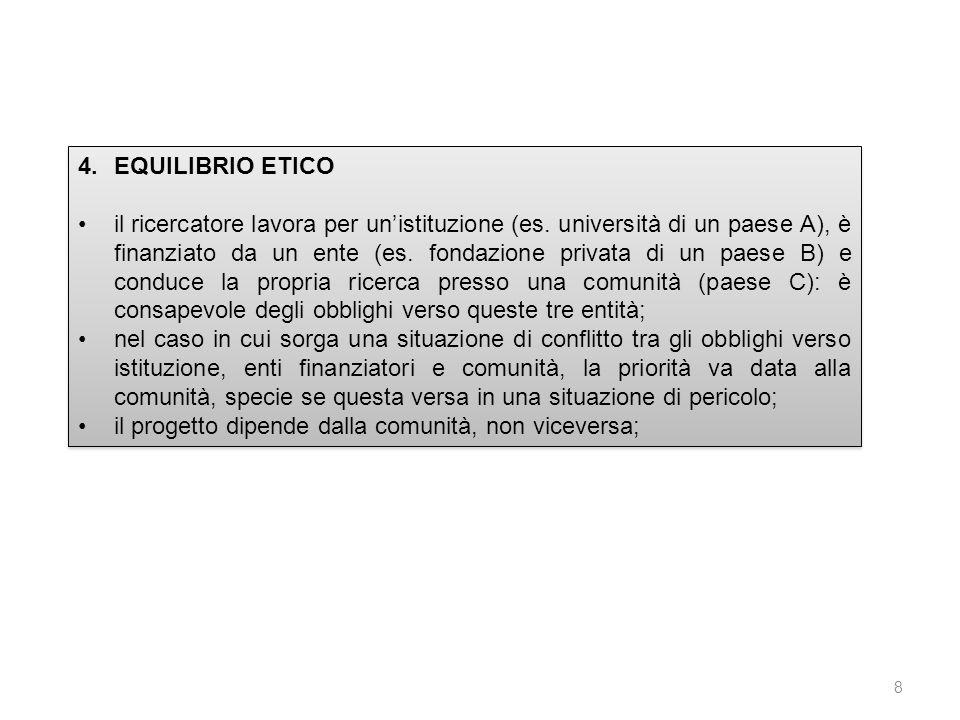 EQUILIBRIO ETICO