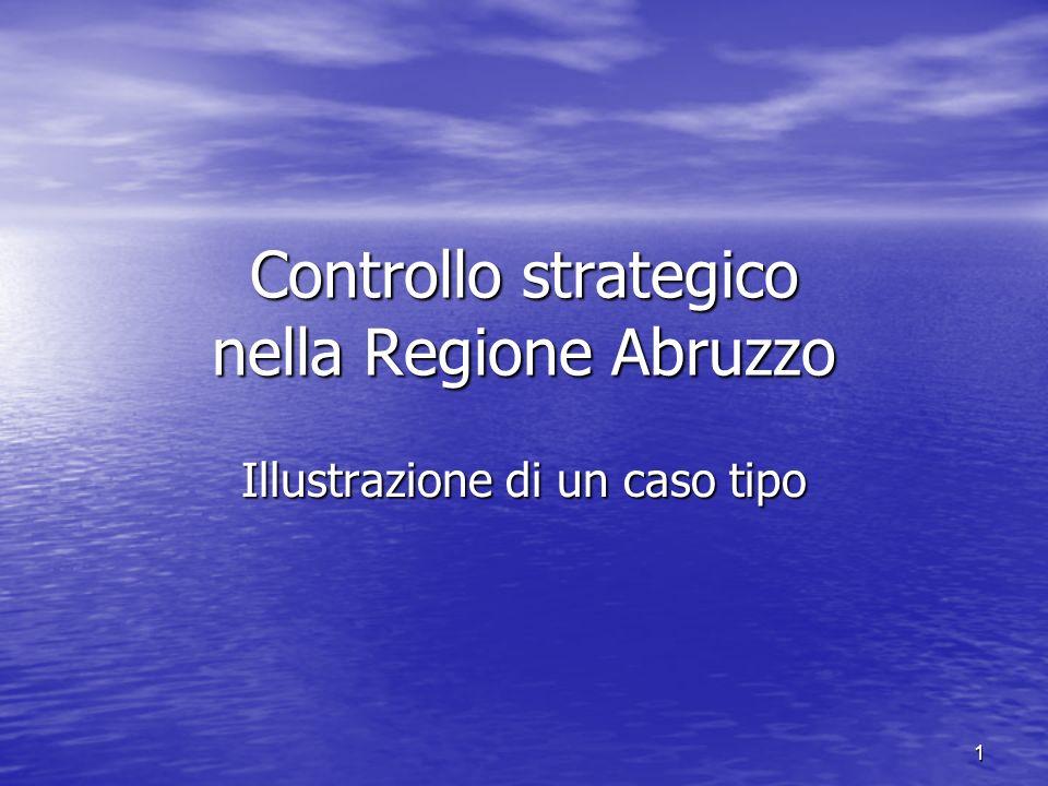 Controllo strategico nella Regione Abruzzo