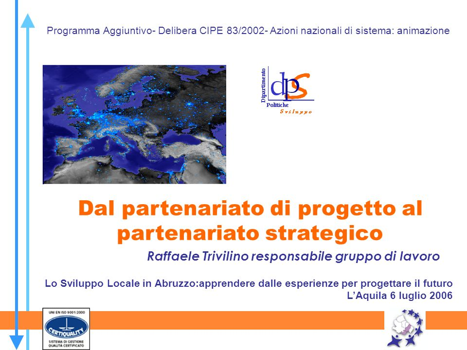 Raffaele Trivilino responsabile gruppo di lavoro