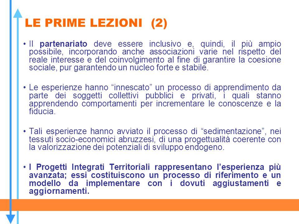 LE PRIME LEZIONI (2)