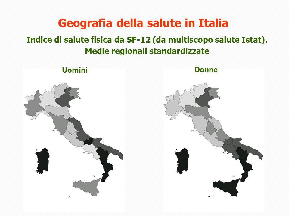 Geografia della salute in Italia