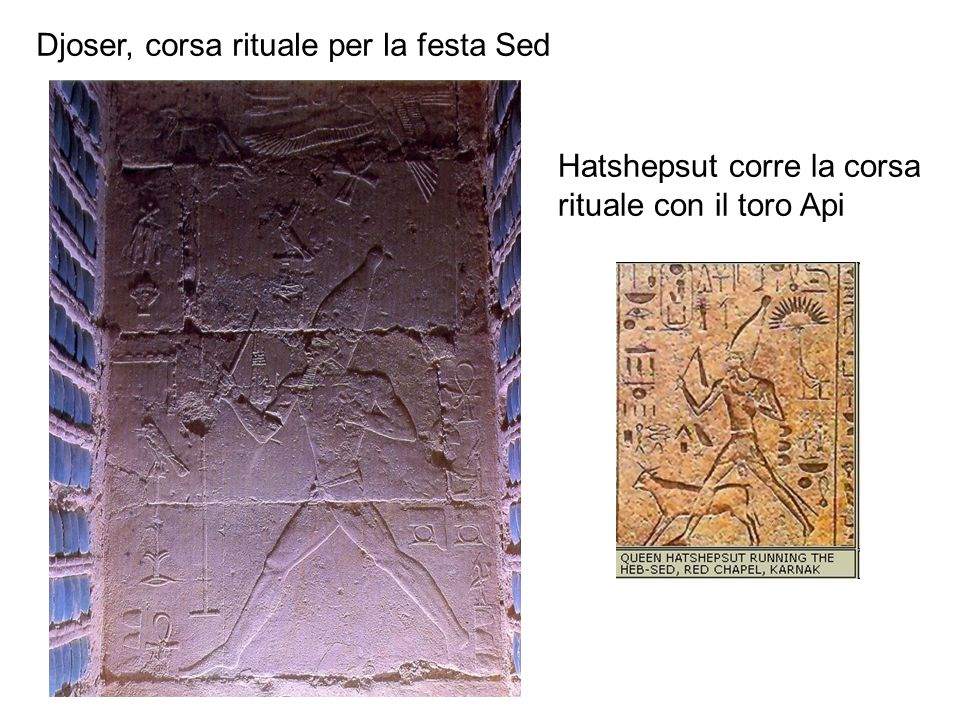 Djoser, corsa rituale per la festa Sed