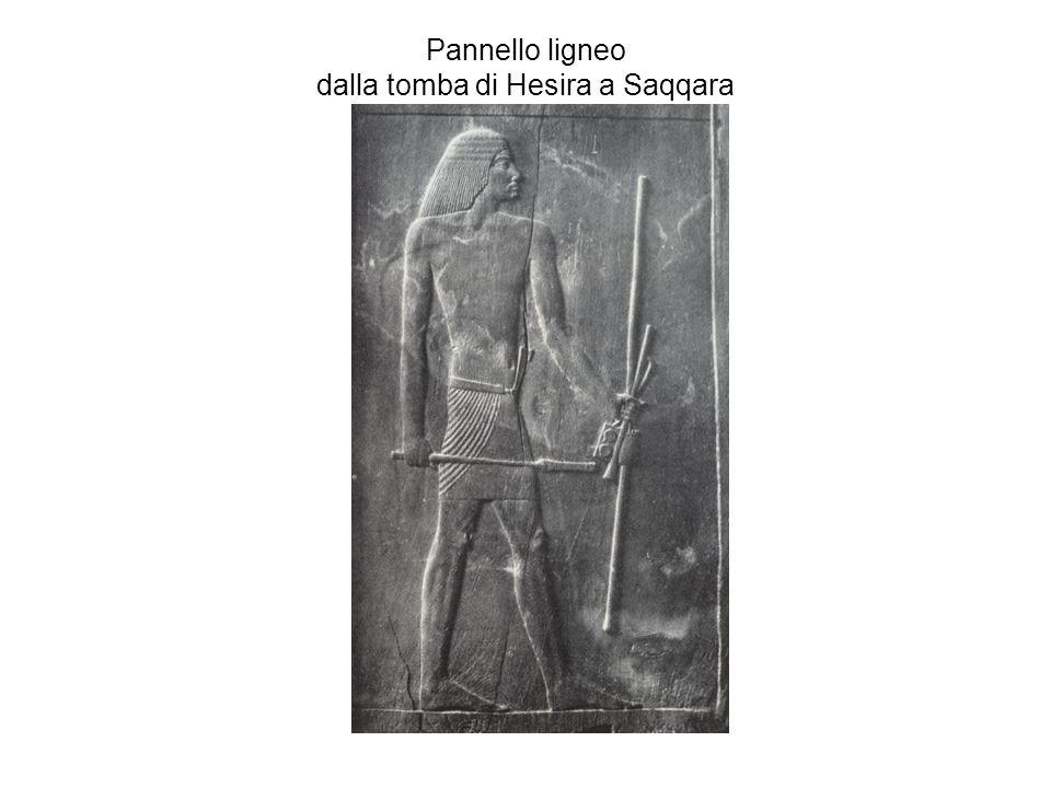 Pannello ligneo dalla tomba di Hesira a Saqqara