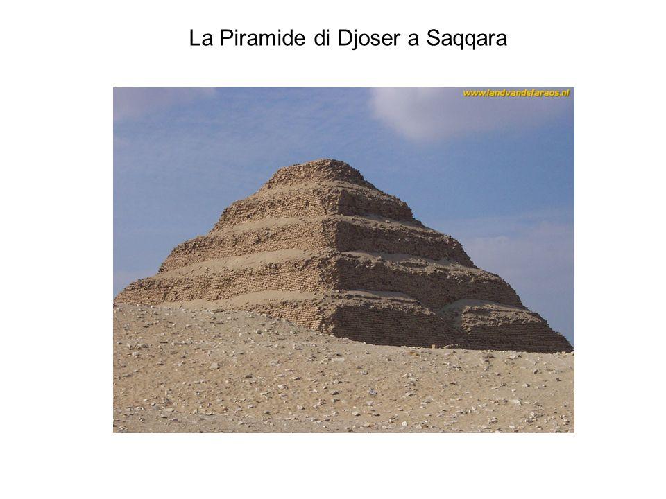 La Piramide di Djoser a Saqqara