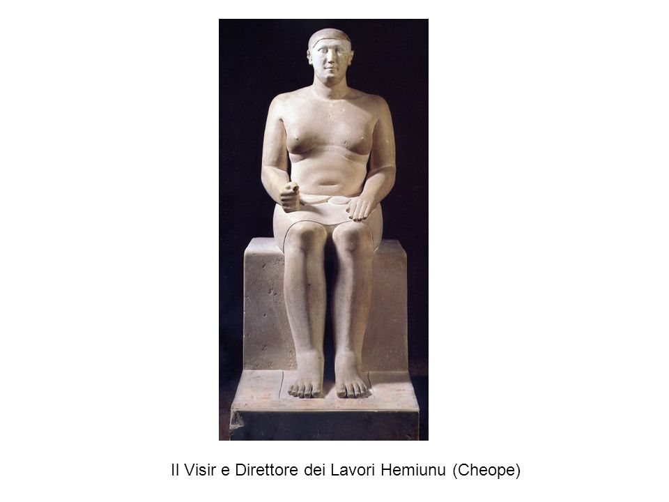 Il Visir e Direttore dei Lavori Hemiunu (Cheope)
