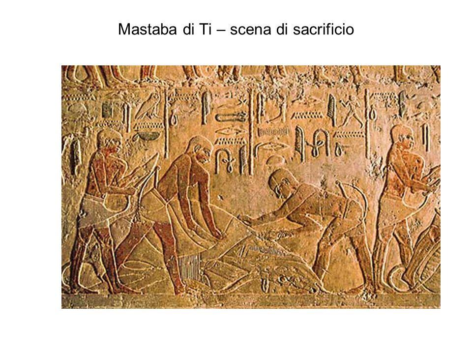 Mastaba di Ti – scena di sacrificio