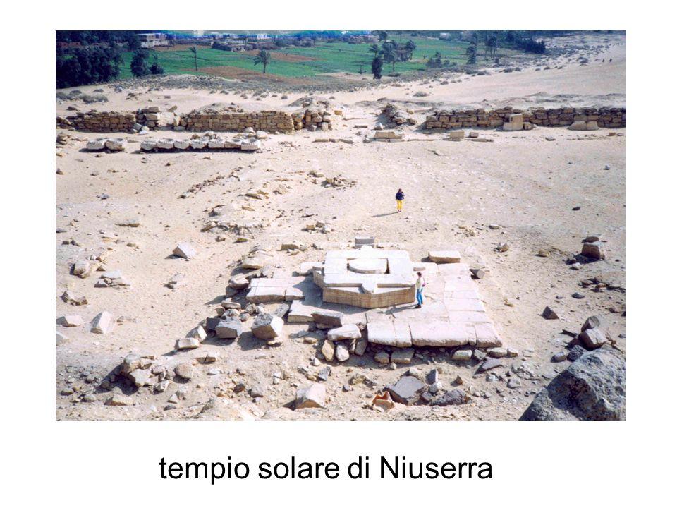 tempio solare di Niuserra