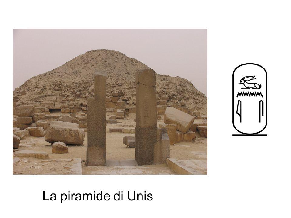 La piramide di Unis
