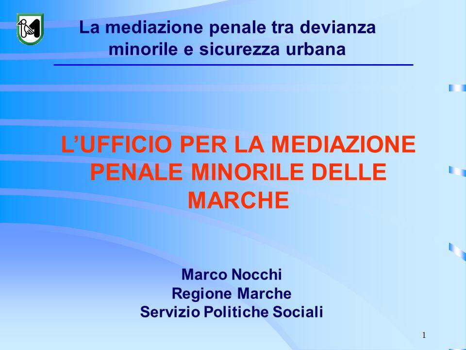 Marco Nocchi Regione Marche Servizio Politiche Sociali