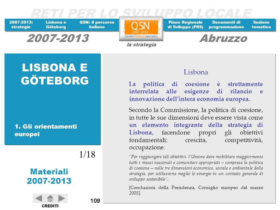 LISBONA E GÖTEBORG 1/18 Lisbona