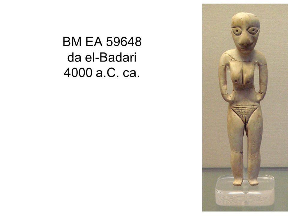 BM EA 59648 da el-Badari 4000 a.C. ca.
