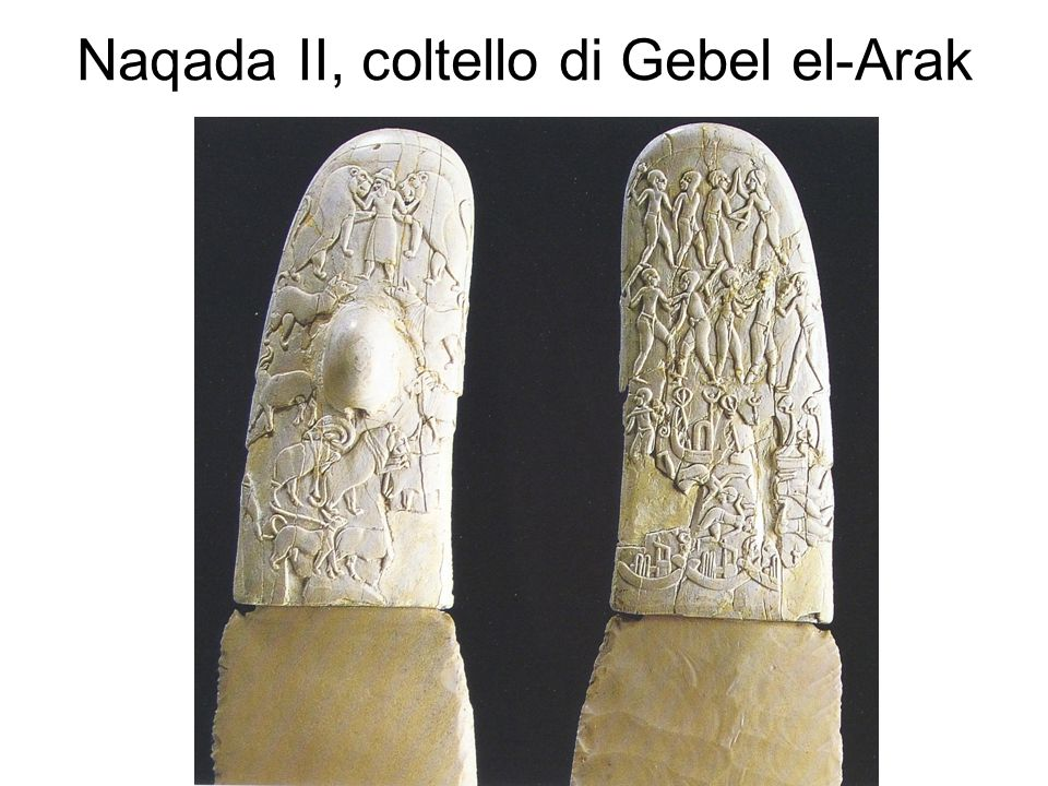 Naqada II, coltello di Gebel el-Arak