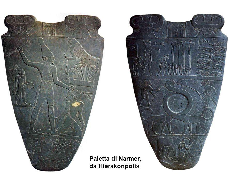 Paletta di Narmer, da Hierakonpolis