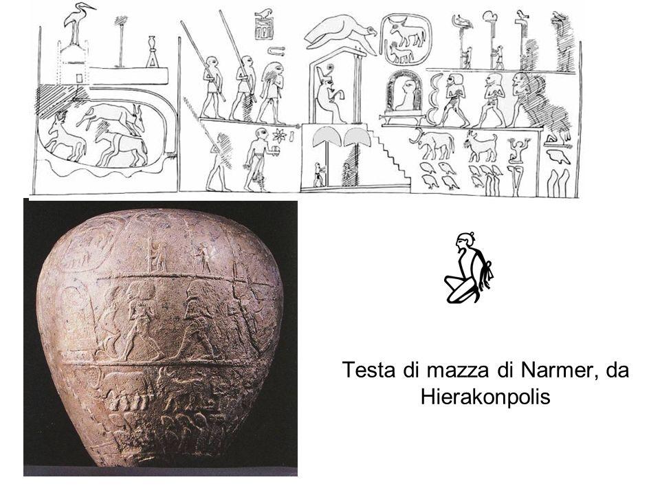 Testa di mazza di Narmer, da Hierakonpolis