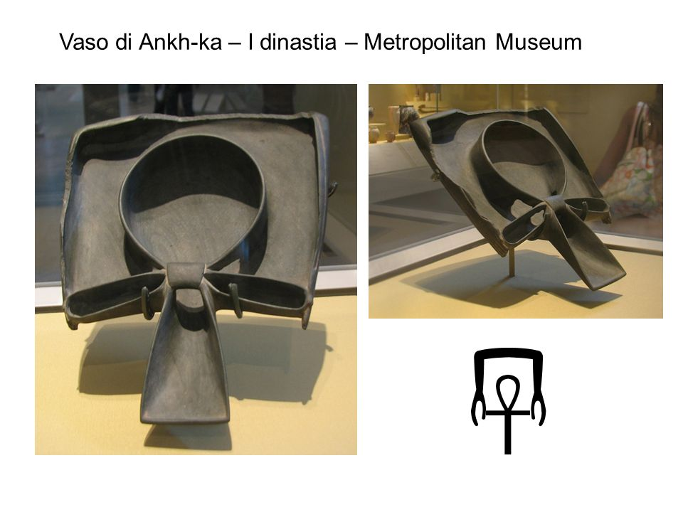 Vaso di Ankh-ka – I dinastia – Metropolitan Museum