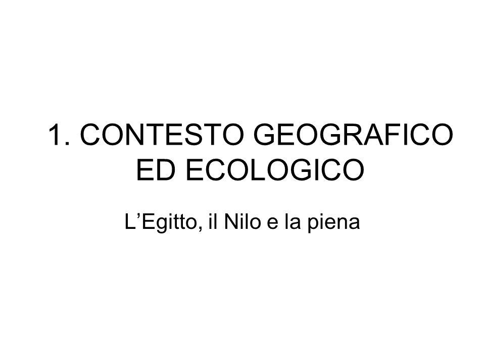 1. CONTESTO GEOGRAFICO ED ECOLOGICO