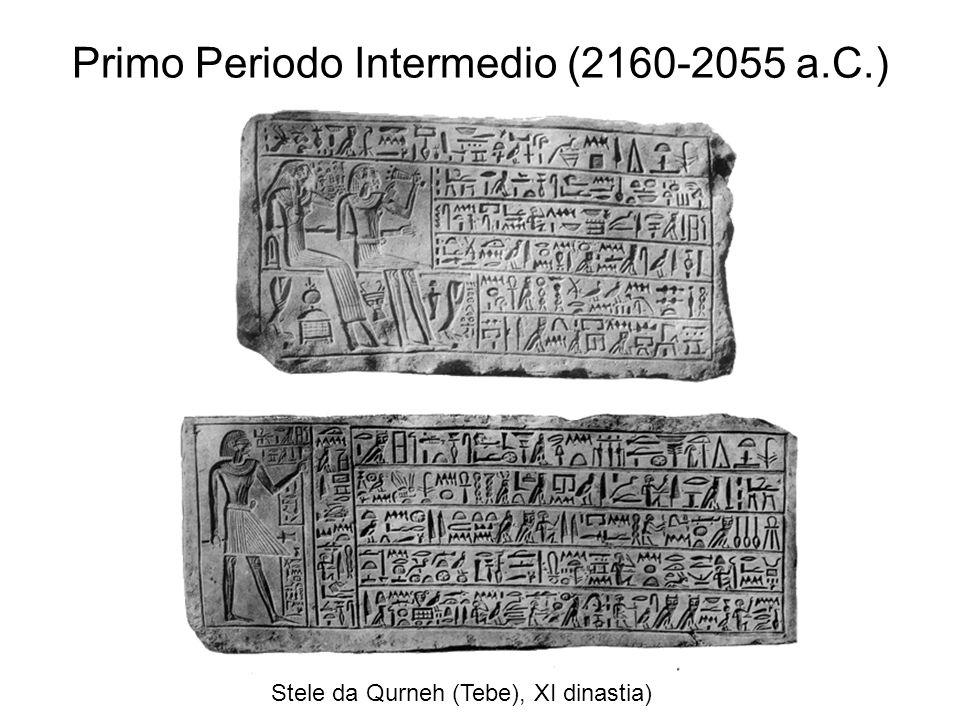 Primo Periodo Intermedio (2160-2055 a.C.)