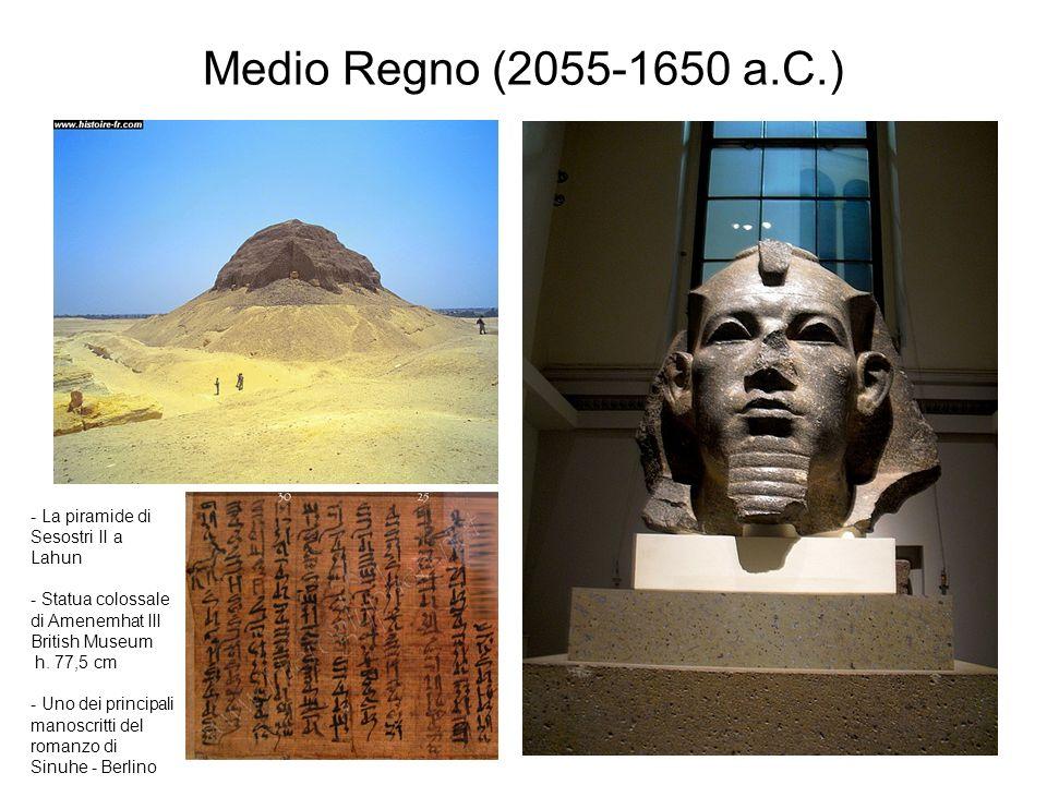 Medio Regno (2055-1650 a.C.) - La piramide di Sesostri II a Lahun