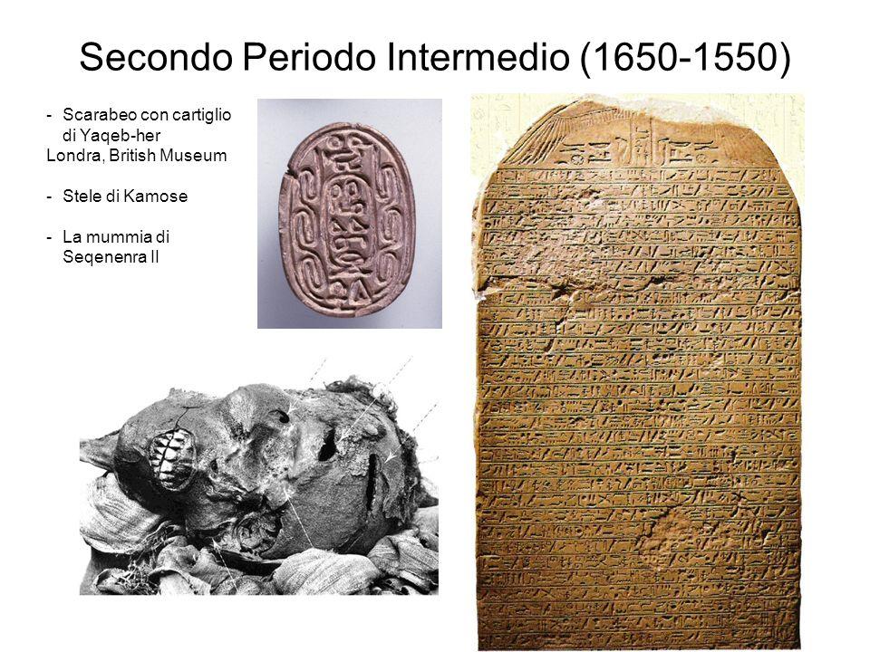 Secondo Periodo Intermedio (1650-1550)