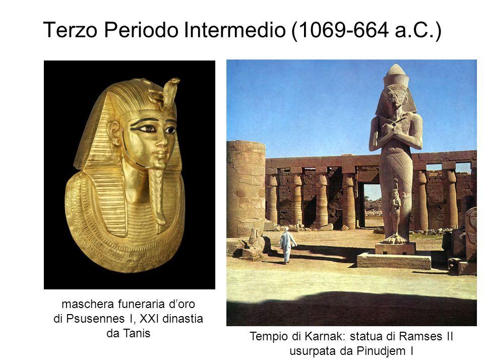 Terzo Periodo Intermedio (1069-664 a.C.)