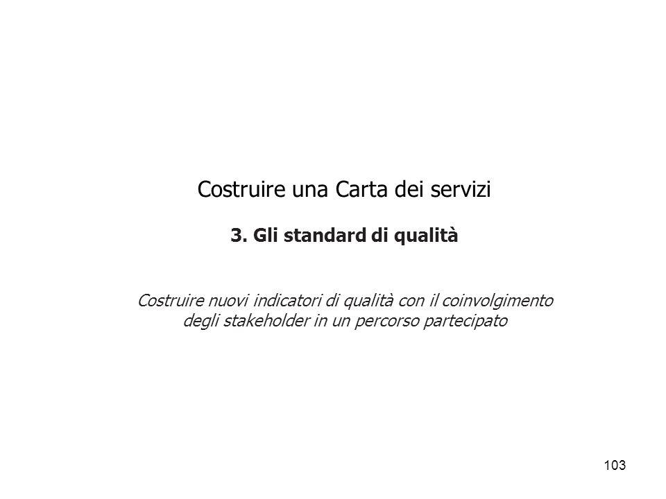 Costruire una Carta dei servizi 3