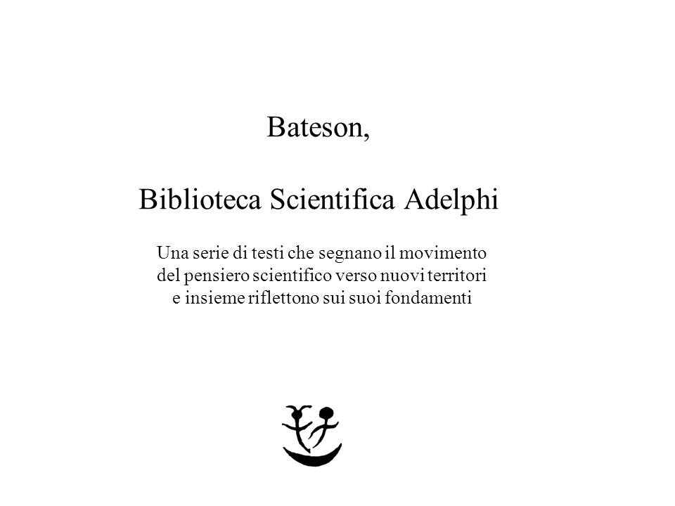 Biblioteca Scientifica Adelphi