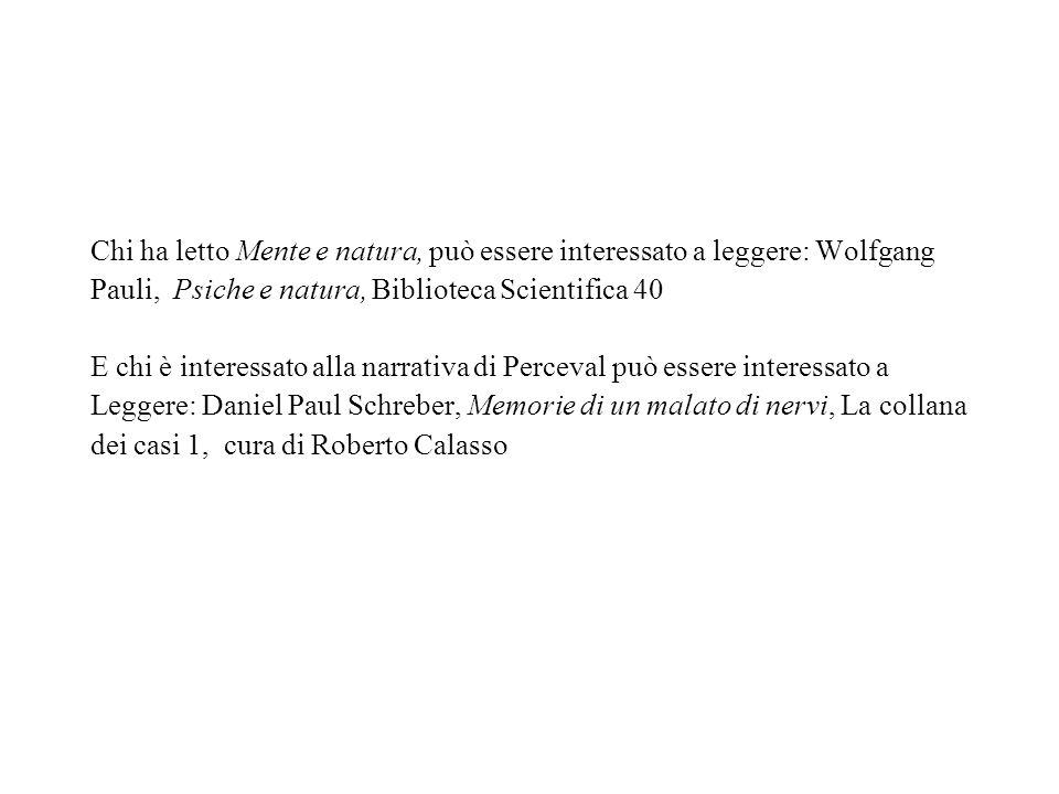 Chi ha letto Mente e natura, può essere interessato a leggere: Wolfgang