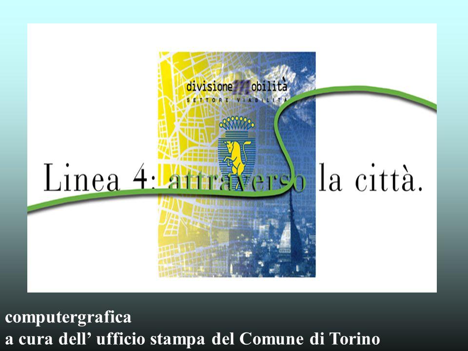 computergrafica a cura dell' ufficio stampa del Comune di Torino