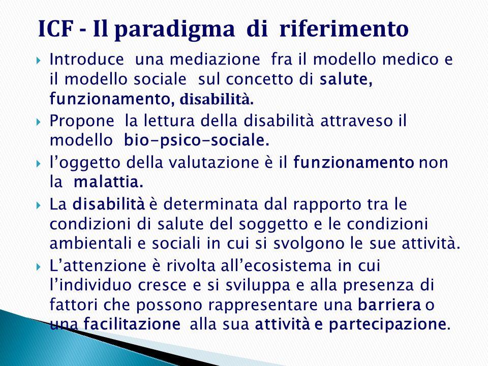 ICF - Il paradigma di riferimento