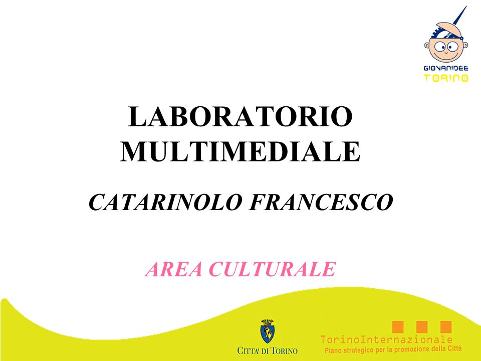 LABORATORIO MULTIMEDIALE