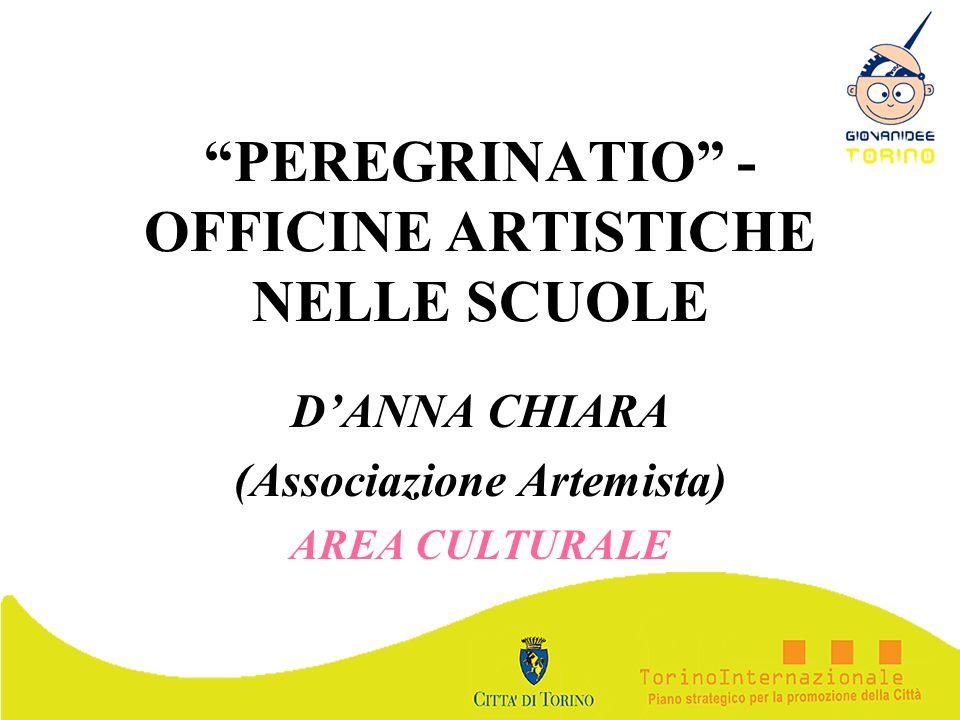 PEREGRINATIO - OFFICINE ARTISTICHE NELLE SCUOLE