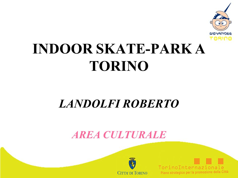 INDOOR SKATE-PARK A TORINO