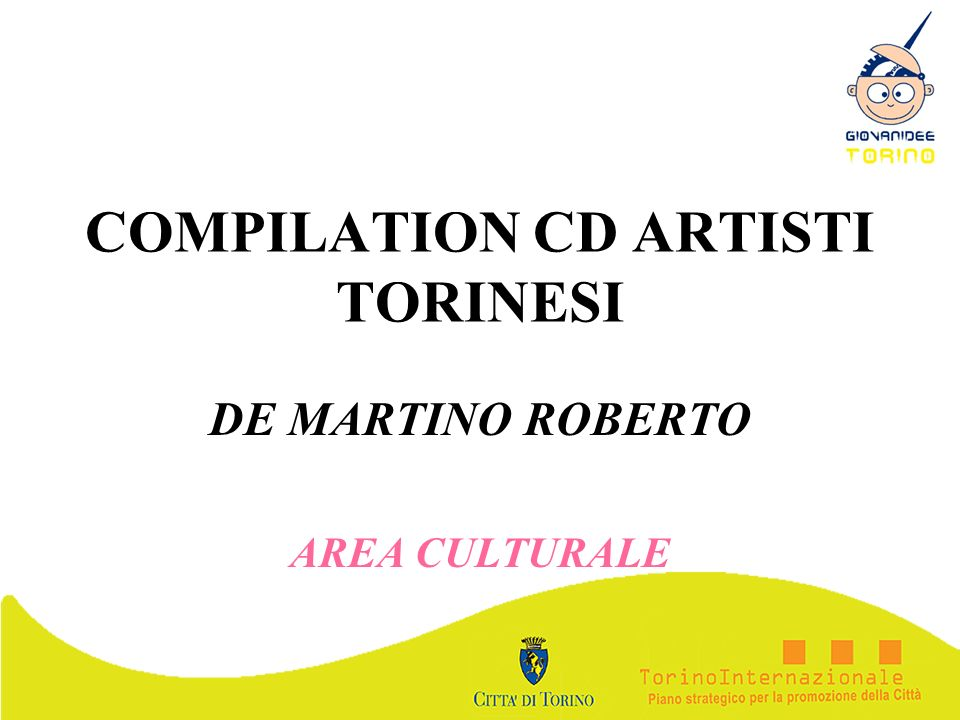 COMPILATION CD ARTISTI TORINESI
