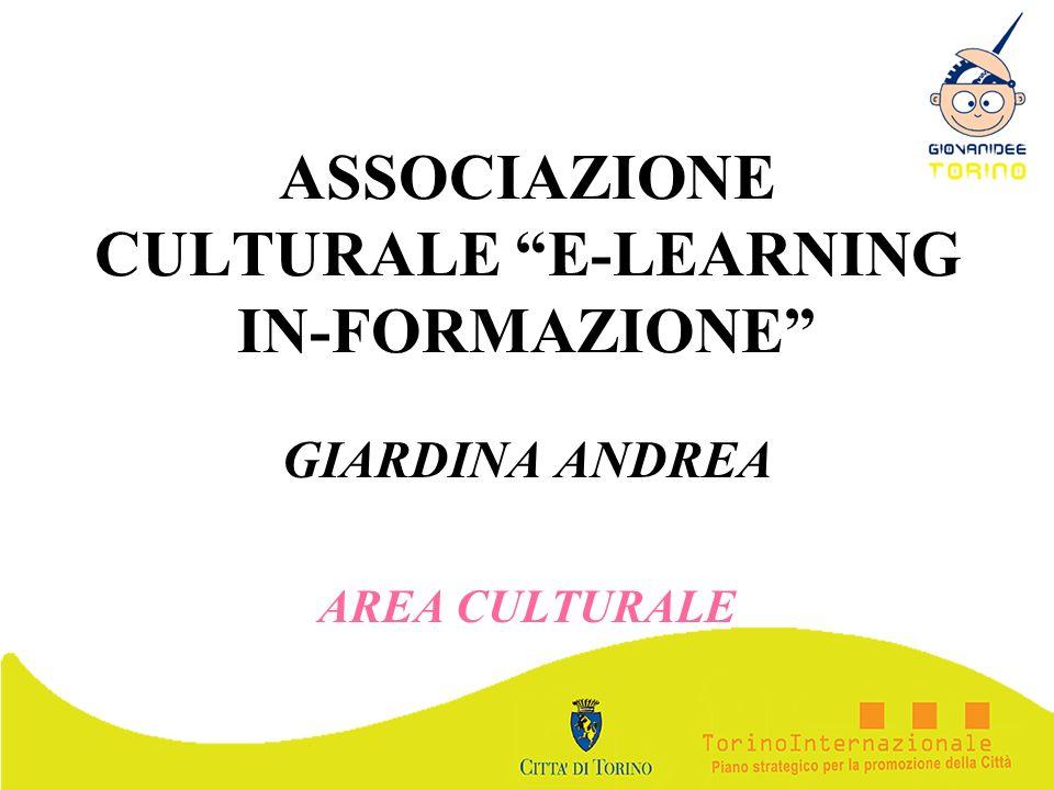 ASSOCIAZIONE CULTURALE E-LEARNING IN-FORMAZIONE