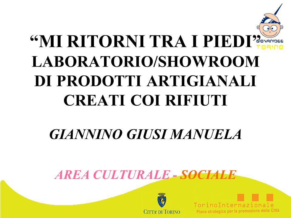 GIANNINO GIUSI MANUELA AREA CULTURALE - SOCIALE