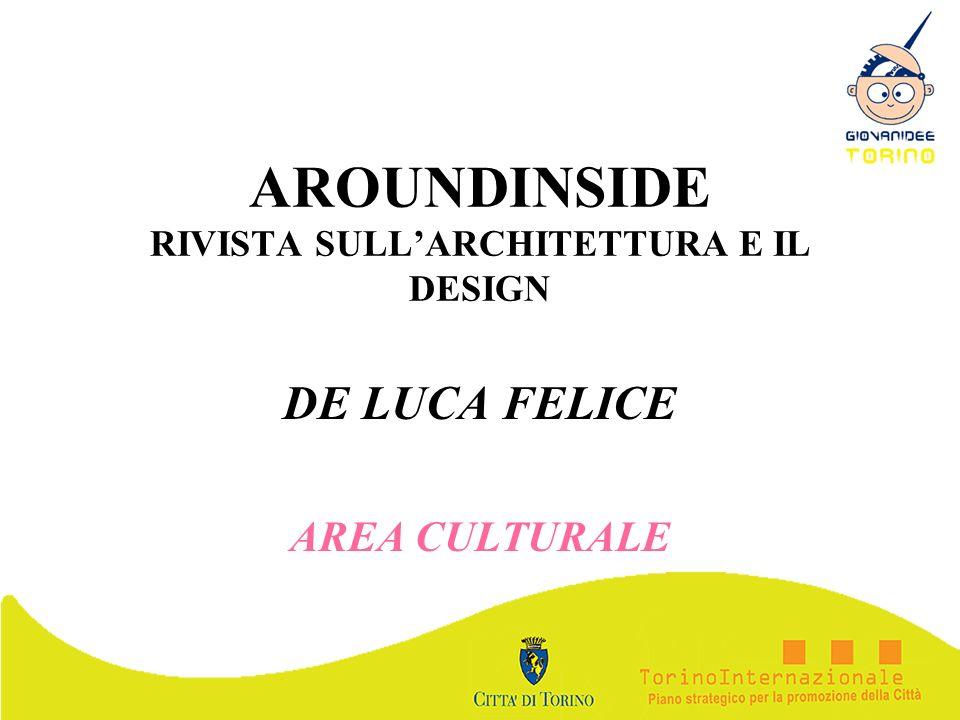 AROUNDINSIDE RIVISTA SULL'ARCHITETTURA E IL DESIGN