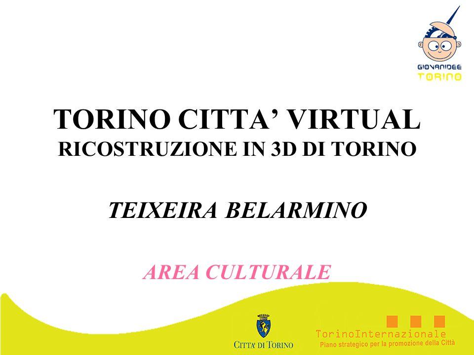 TORINO CITTA' VIRTUAL RICOSTRUZIONE IN 3D DI TORINO