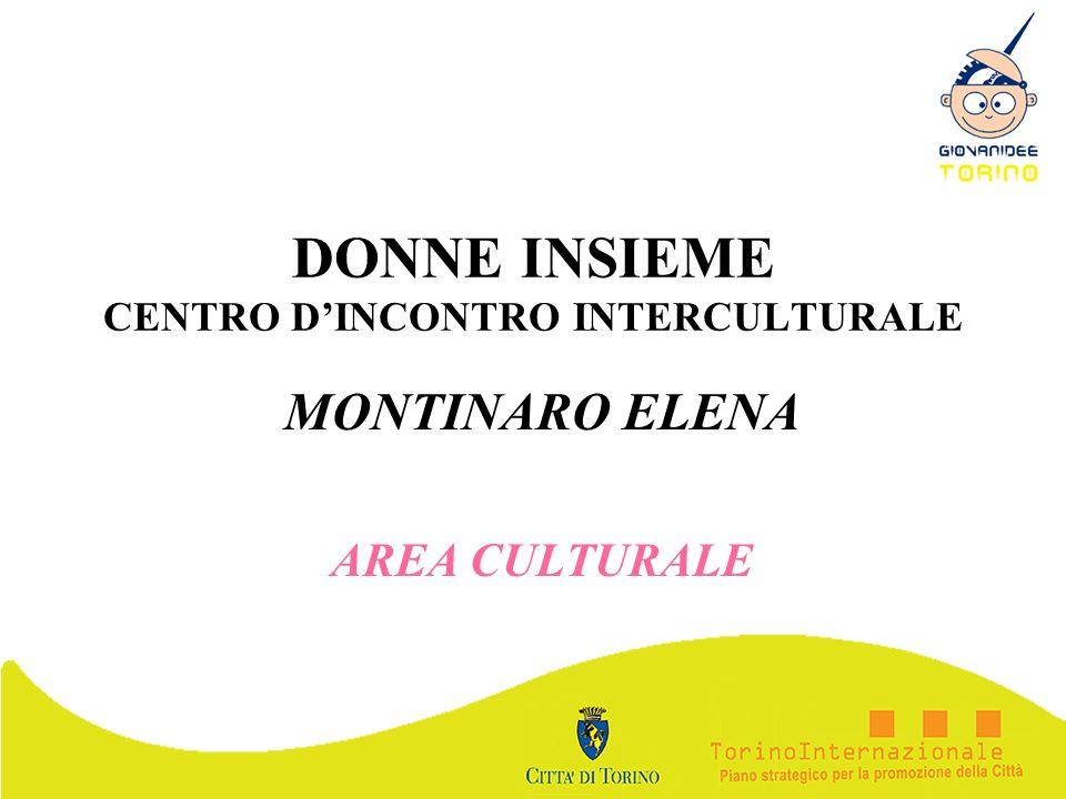 DONNE INSIEME CENTRO D'INCONTRO INTERCULTURALE