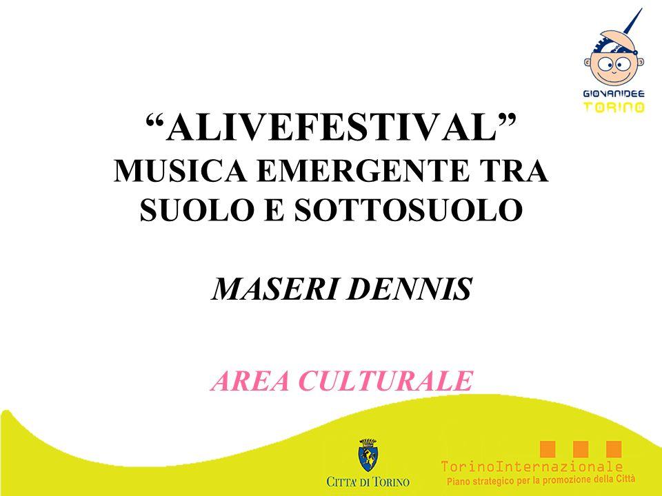 ALIVEFESTIVAL MUSICA EMERGENTE TRA SUOLO E SOTTOSUOLO