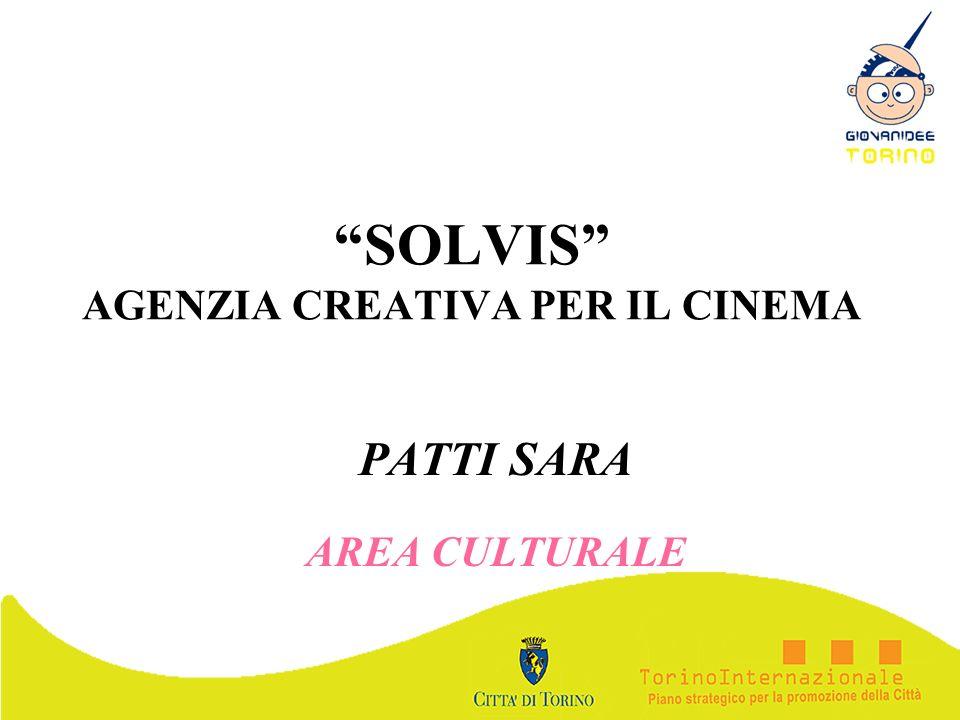 SOLVIS AGENZIA CREATIVA PER IL CINEMA