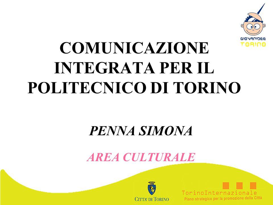 COMUNICAZIONE INTEGRATA PER IL POLITECNICO DI TORINO
