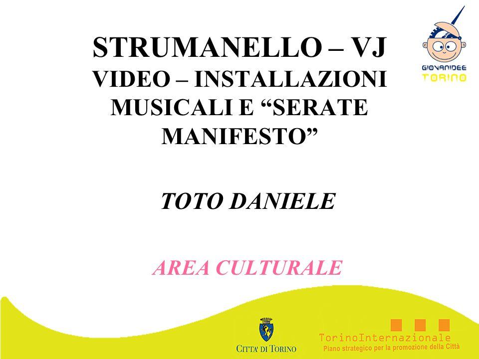 STRUMANELLO – VJ VIDEO – INSTALLAZIONI MUSICALI E SERATE MANIFESTO